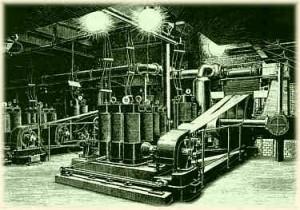 Siemens liefert 1885 die Dynamomaschinen für die erste deutsche Gleichstromdampfzentrale
