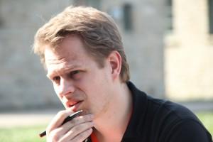 Christian Pfitzner am Überlegen: Was kann noch besser werden?
