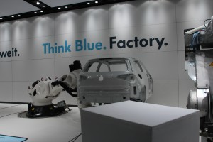 Die Think Blue Factory des Automobilherstellers...