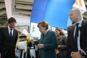 Ob Robotik für unsere Bundeskanzlerin auch Neuland sein mag?...