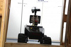 """Schnelle, kleine Roboter - sogenannte """"mobile Robotik"""" werden speziell für Gefahren entwickelt..."""