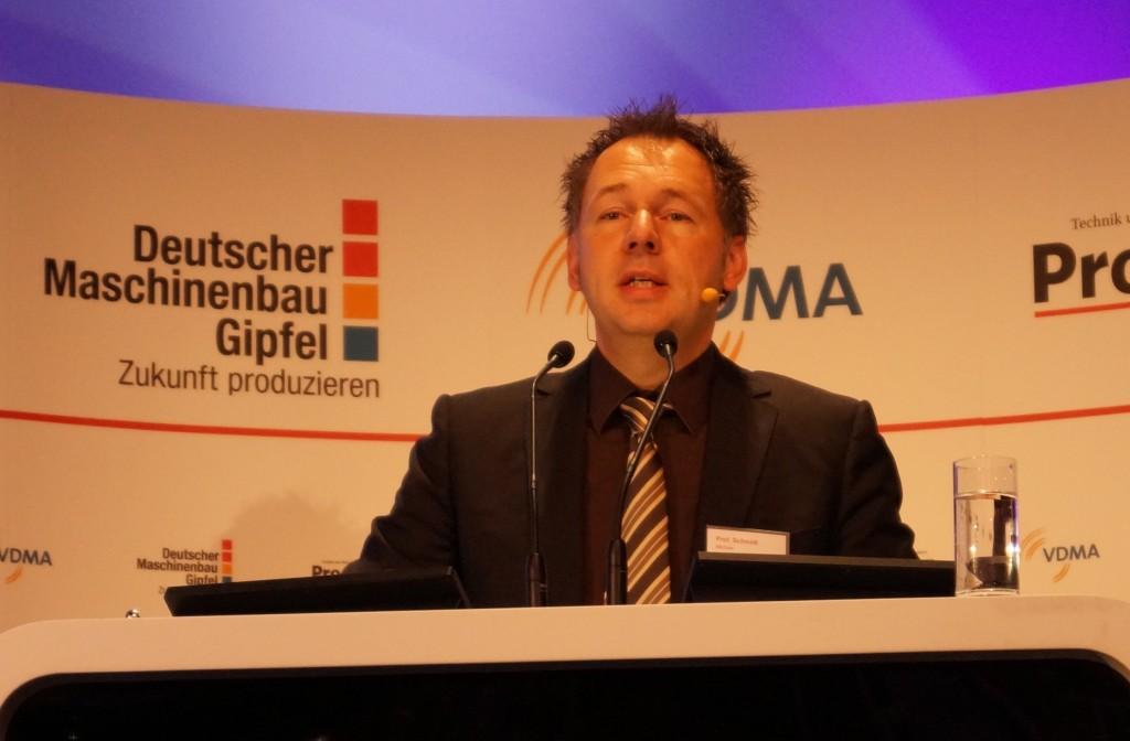 Michael Schmidt, Lehrstuhlinhaber für photonische Technologien der Friedrich-Alexander-Universität