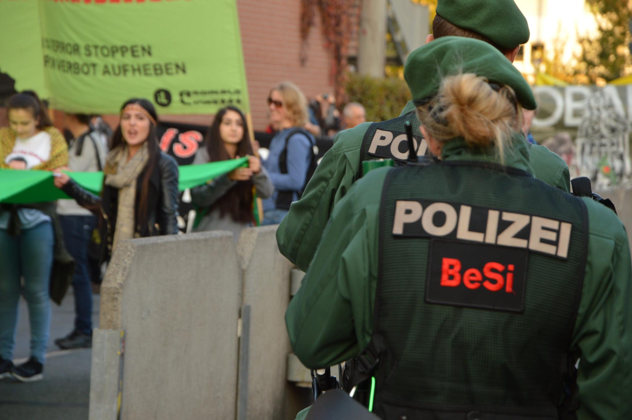 Demonstrationen und Polizei