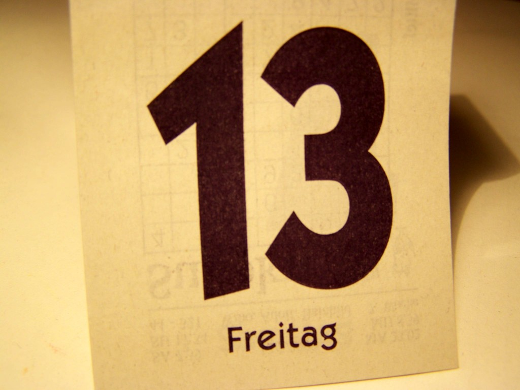 Ohje - Freitag der 13. (Bild: knipseline / pixelio.de)