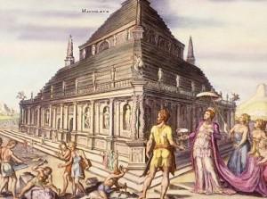 Imaginierte Darstellung des Mausoleums
